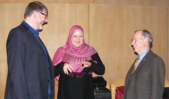 Annett Abdel-Rahman bei einem Seminar in Goslar
