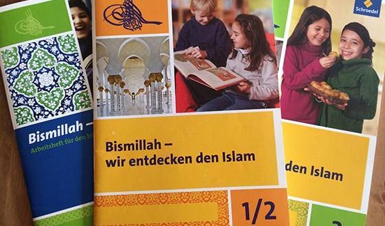 3 Lehrwerke zum islamischen Religionsunterricht